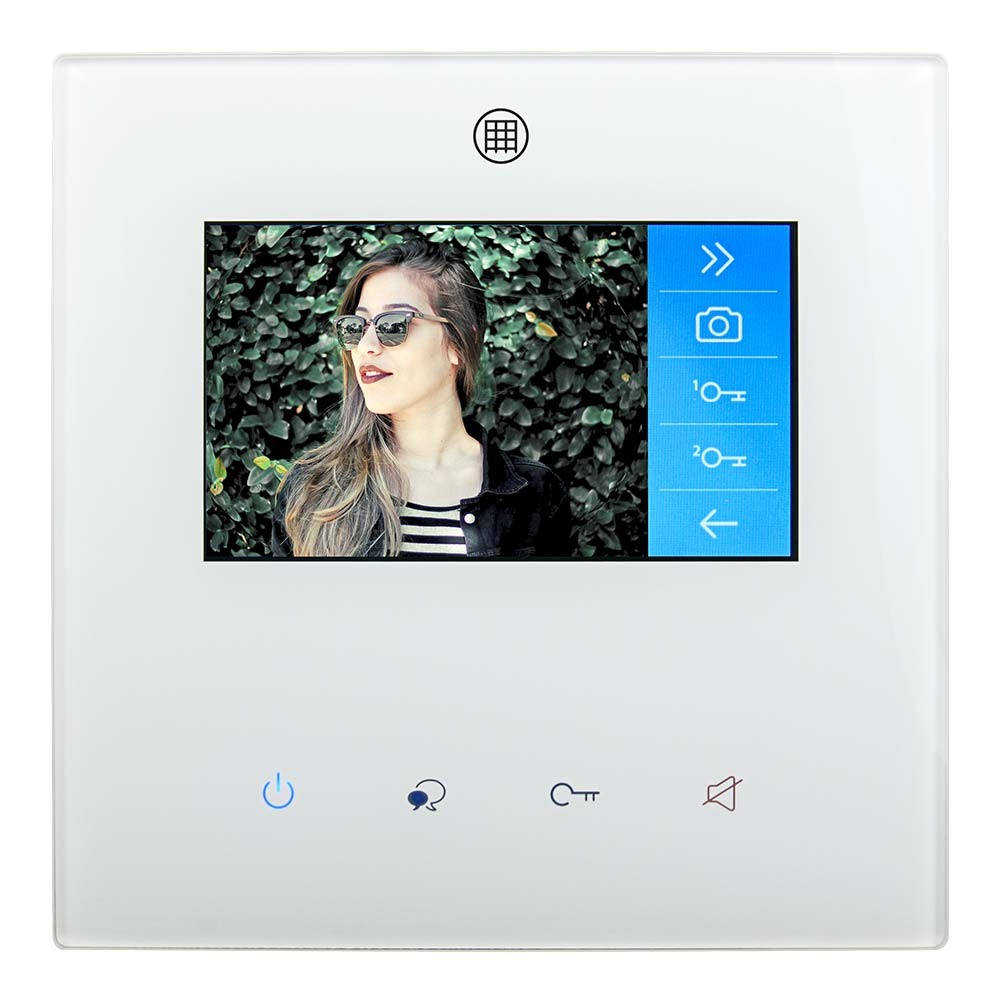 "Colour 4.3"" Video Door Entry Apartment Unit RSS-MW4"