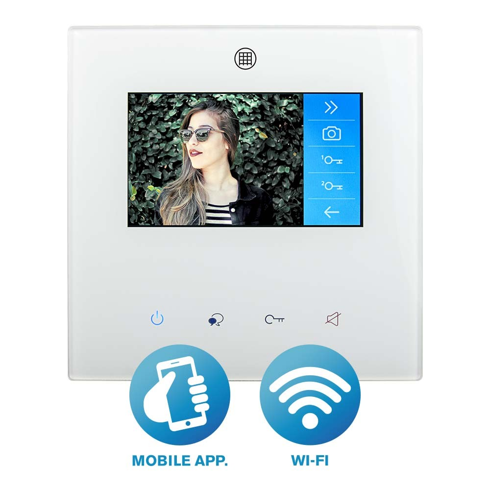 WiFi Enabled Door Entry Colour Monitor RSS-MW4