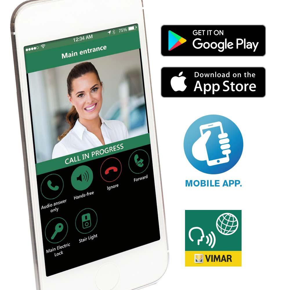 VideoDoor App for TAB 5S Door Entry Monitor