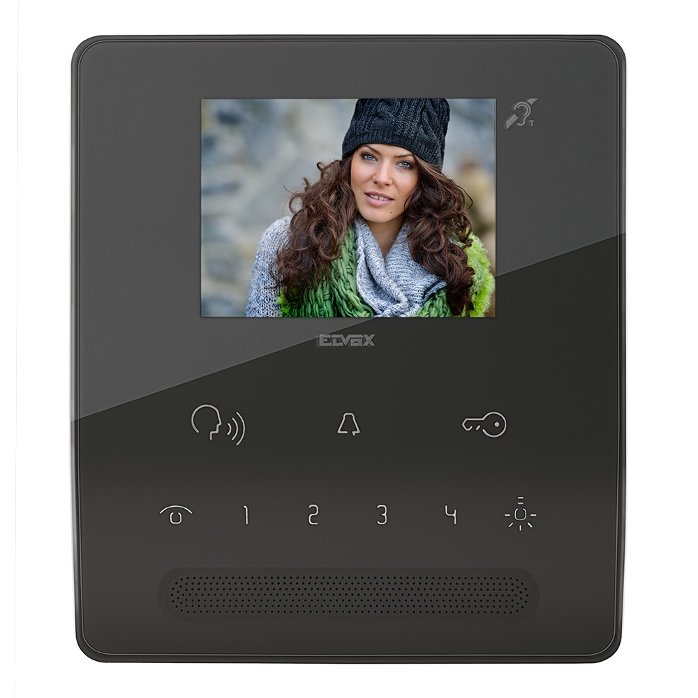 TAB Hands Free Video Door Entry Handset in Black