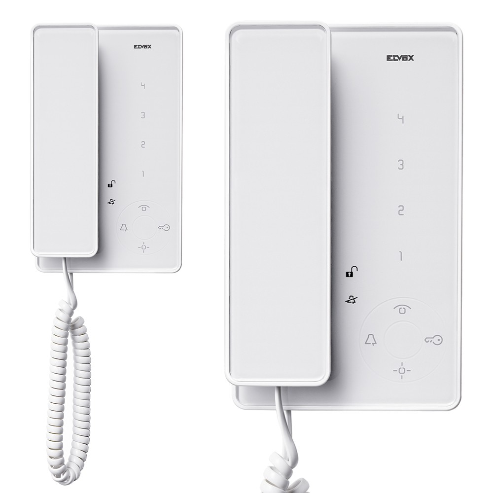 Elvox TAB Jr. Audio Door Entry Handsets White option