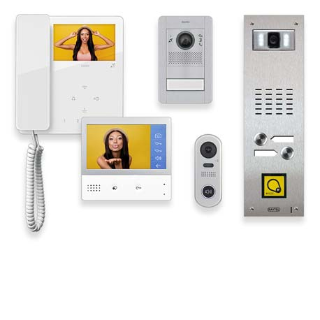 Vimar Elvox and Raytel Door Entry Panels and Apartment Handsets
