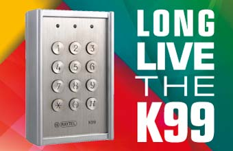 Introducing the K99 Access Control Keypad