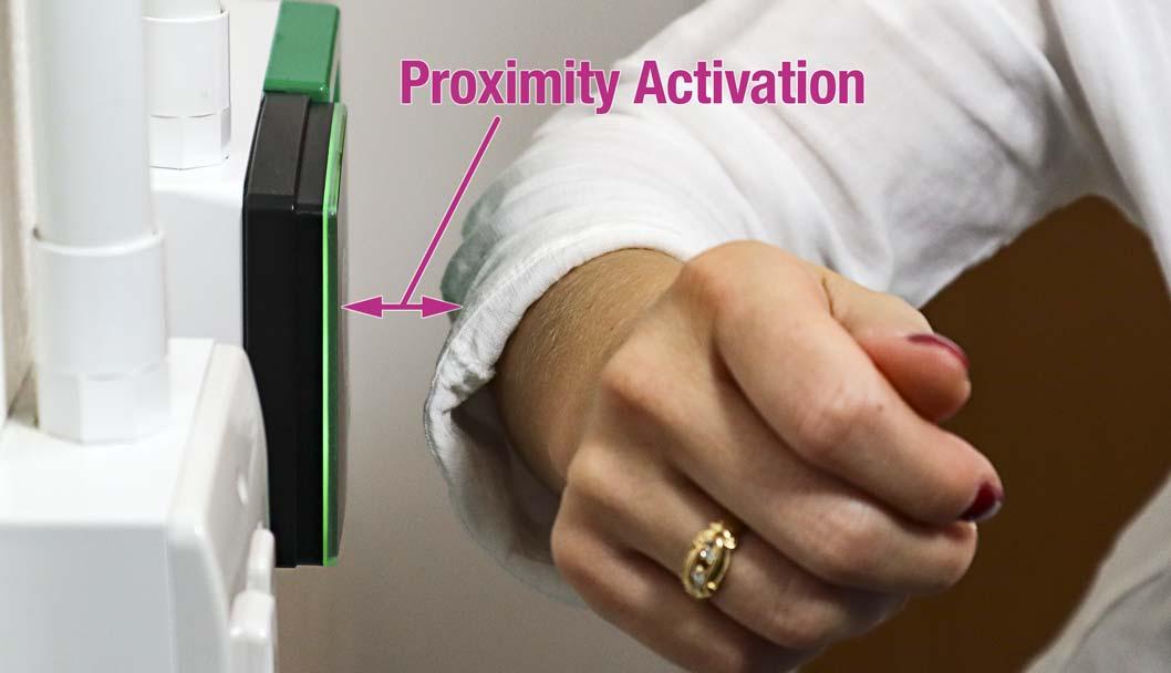 Proximity activation